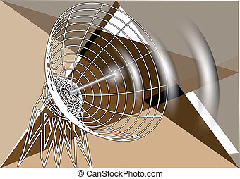 astratto, antenna