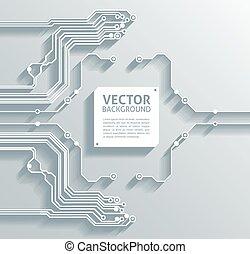 astratto, carta, vettore, fondo, infographics, 3d