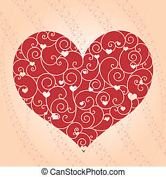 astratto, cartolina auguri, valentina