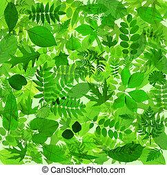 astratto, congedi verdi, fondo