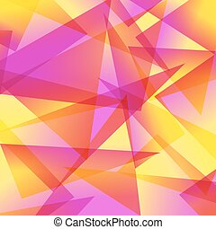 astratto, differente, fondo, fractal, rosso giallo, colori