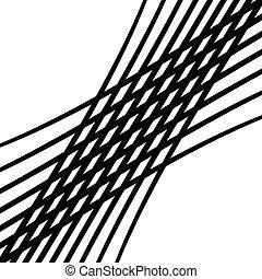 astratto, disposizione quadrata, ondeggiante, modello, lines., mesh., asservire, illustrazione, ondulato, tessere, squiggly, geometrico, rotazione fuori piano, estensione, fondo, ondeggiare, stripes., squiggle, griglia, billowy, intersecare, groviglio, texture., linee, intrecciare