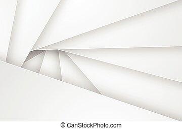 astratto, fondo, illustration., vettore, bianco