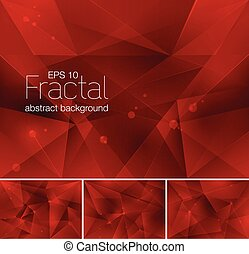 astratto, fractal, fondo