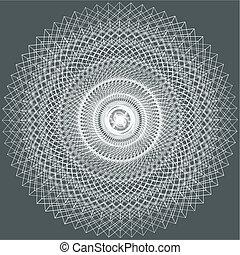 astratto, fractal, ornamentale
