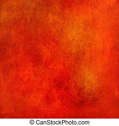 astratto, grunge, fondo, struttura, rosso