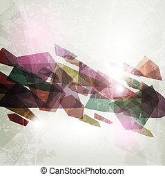 astratto, illustrazione, fondo., luminoso, vettore, disegno, 3d