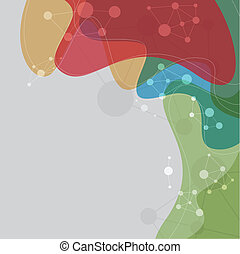 astratto, multicolor, fondo