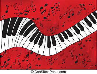 astratto, pianoforte
