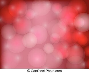 astratto, sfavillante, fondo., stelle, vacanza, rosso