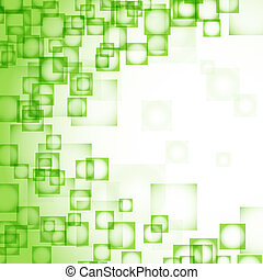astratto, squadre, sfondo verde