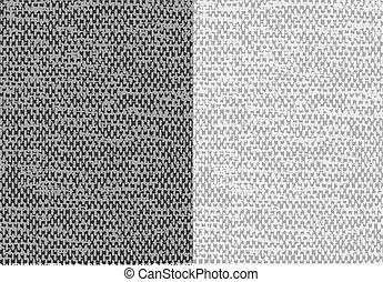 astratto, tela, textured, lino, vector., tessuto, fondo.