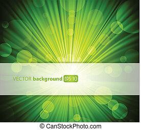 astratto, tuo, text., fondo, posto, verde