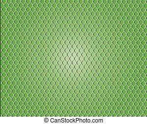 astratto, vettore, sfondo verde
