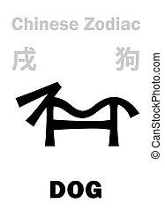 astrology:, zodiac), (sign, cinese, cane