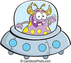 astronave, cartone animato