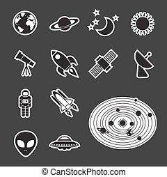 astronomia, icona