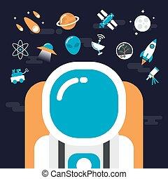astronomia, icone