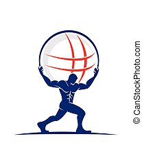 atlante, logotipo