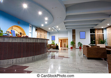 atrio albergo