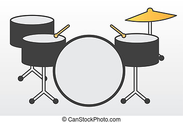 attrezzatura tamburo
