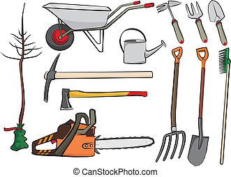 attrezzi gardening