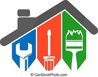 attrezzo, riparazione, casa