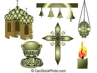 attributes, cristiano, chiesa