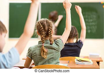 aula, lezione scuola, bambini