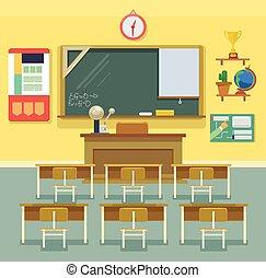 aula, scuola