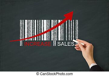 aumento vendite