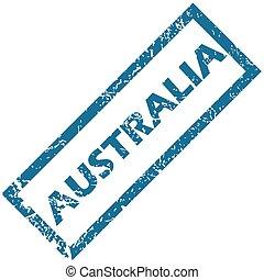 australia, bollo gomma