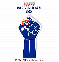 australia, giorno, indipendenza