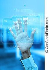 authentication, impronta digitale