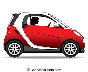 auto di dimensioni compatte, berlina compatta