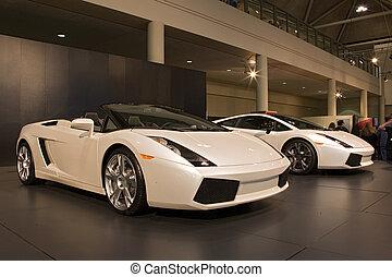 auto, mostra, trasporto, 020, automobile