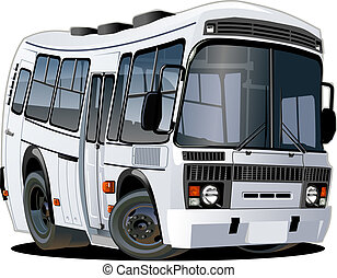 autobus, cartone animato