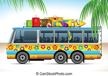 autobus, viaggio