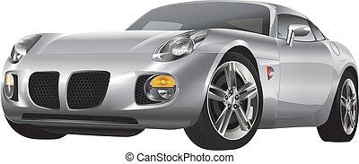 automobile, argento