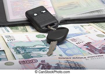 automobile, autodocuments, chiave
