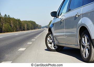automobile, autostrada, automobile