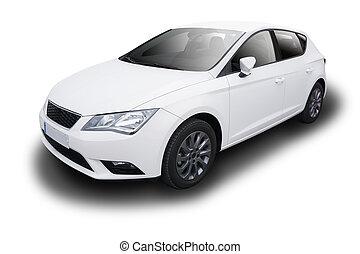 automobile, bianco