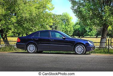 automobile, bordo della strada