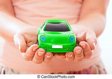 automobile, concetto, protezione