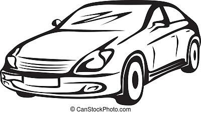 automobile, contorno