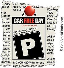 automobile, giorno, libero