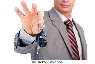 automobile, key.