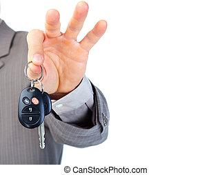 automobile, keys.