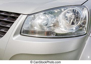automobile, lampada, fine