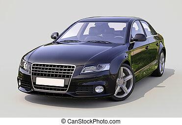 automobile, moderno, lusso